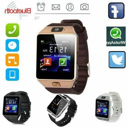 Bluetooth Smart Watch w/ Camera Waterproof Phone For iPhone
