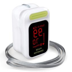ELERA Portable Finger Pulse Oximeter Digital Oxygen Saturome