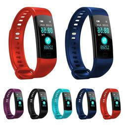 fitness tracker color screen heart rate monitor