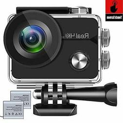 AOKON H60 Touch Screen 4K 30fps Waterproof Action Camera Wi-