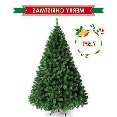 7 5 foot christmas tree with strand