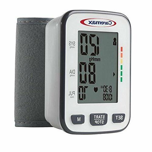 Caremax Automatic One Touch Wrist Blood Pressure and Pulse M