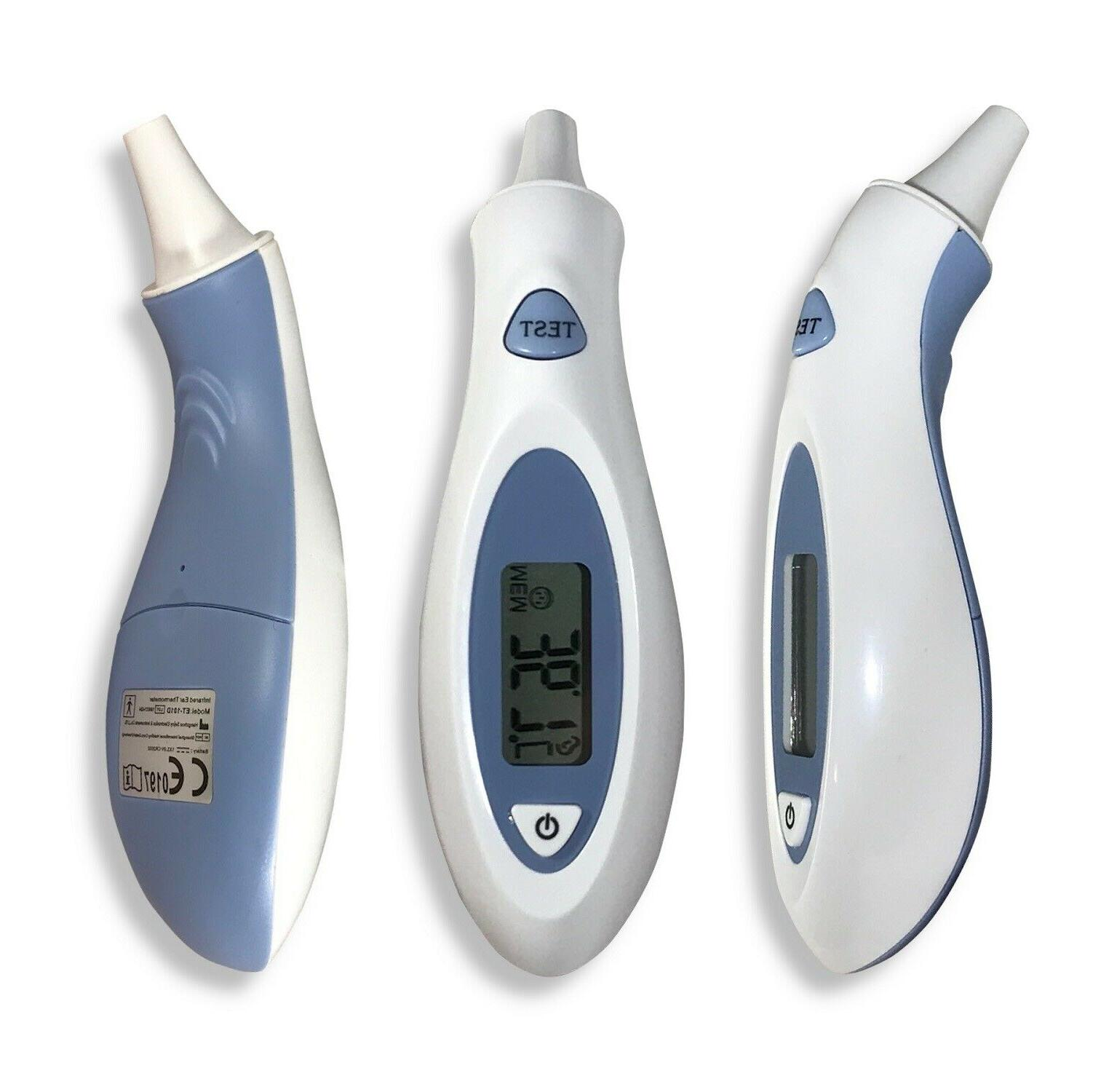 et 101d infrared in ear digital thermometer