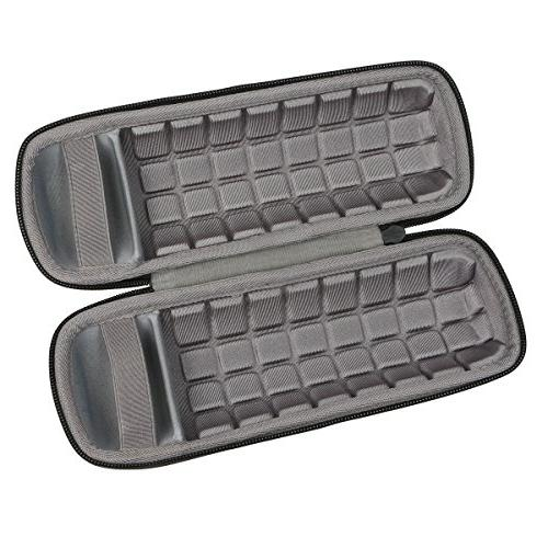co2crea Carrying Case for 3 Waterproof Bluetooth