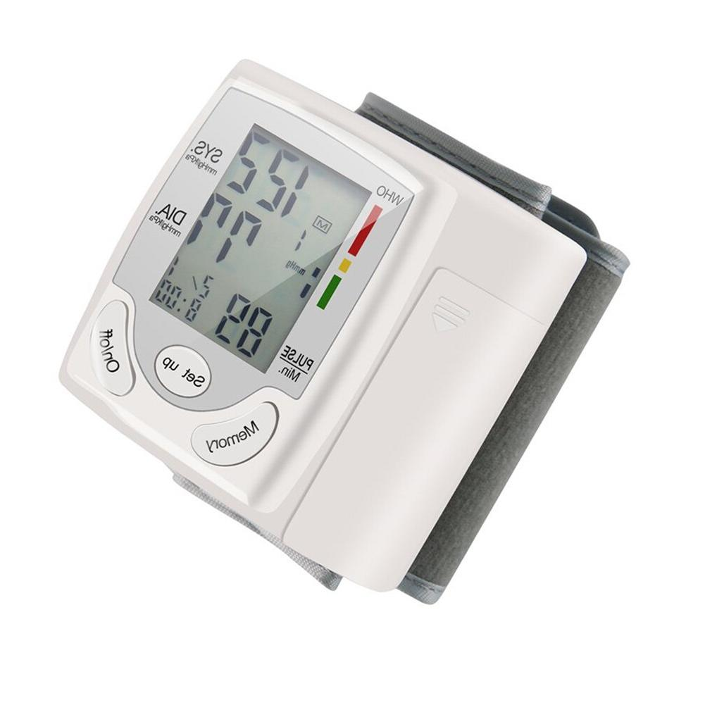 Newly Cuff Wrist Sphygmomanometer <font><b>Blood</b></font> <font><b>Presure</b></font> <font><b>Monitor</b></font> Rate