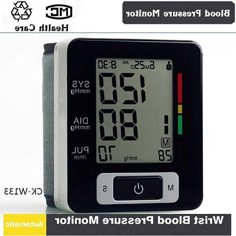 Portable Tonometer Cuff Sphygmomanometer <font><b>Monitor</b></font> Heart Pulse measurement