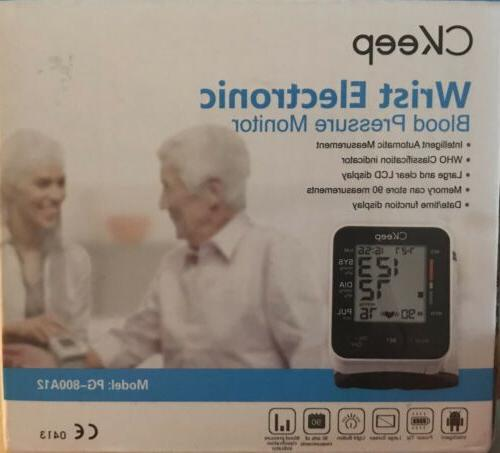 Ckeep Wrist Blood Pressure Monitors