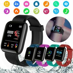 Smart Watch Band Heart Rate Oxygen Blood Pressure Fitness Tr