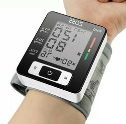 Voice Cuff Wrist Sphygmomanometer Blood Presure Meter Monito