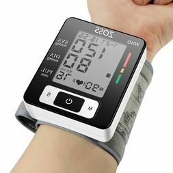 Cuff Wrist Sphygmomanometer Blood Presure Meter Monitor Hear